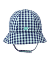 Gingham Turtle Hat
