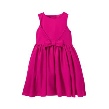 Baby Girl Magenta Bow Dress at JanieandJack