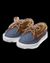 Linen Blend Boat Shoe