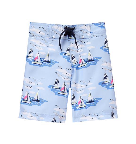 Sailboat Swim Trunk