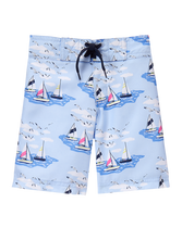 Sailboat Swim Trunk