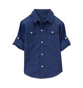 Roll-Cuff Shirt