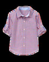 Poplin Roll-Cuff Shirt
