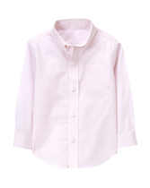 Checked Poplin Dress Shirt