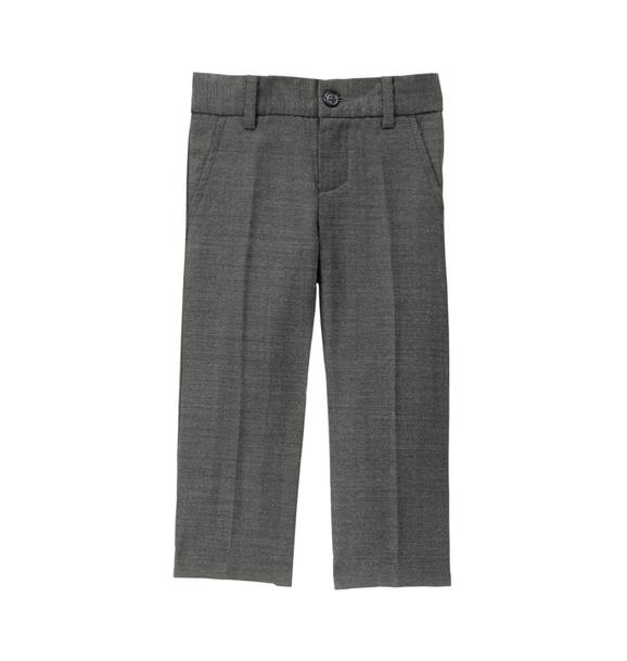 Wool Herringbone Trouser