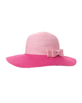 Colorblock Straw Hat