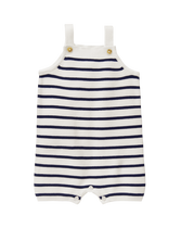 Striped Sweater Shortall