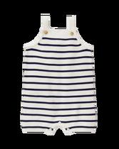 Striped Sweater Shortall