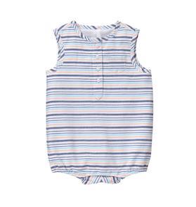 Striped 1-Piece