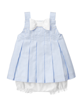 Striped Pleated Set
