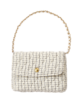 Quilted Bouclé Purse