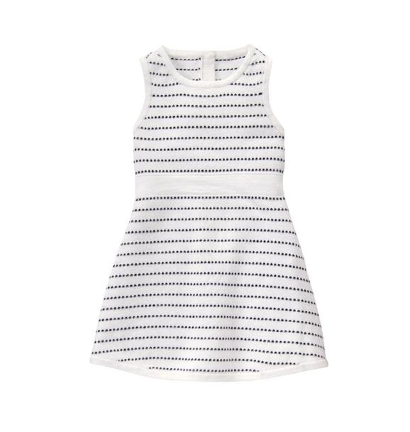 Pick-Stitch Sweater Dress
