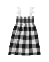 Gingham Cover-Up