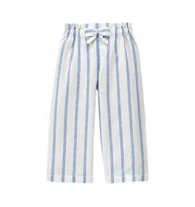 Striped Linen Blend Pant