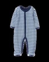 Striped Knit 1-Piece