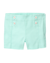 Button Canvas Short