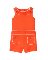 Piped Romper