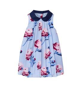 Peony Pleated Dress