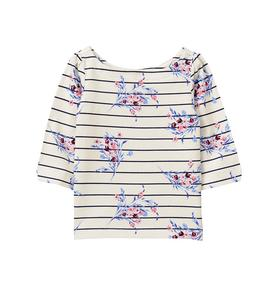 Striped Bloom Top