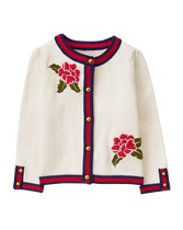Embroidered Bloom Cardigan