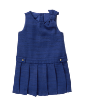 Boucl&eacute Bow Dress