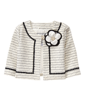 Bouclé Bloom Jacket