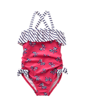 Bow Print Swimsuit