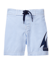 Seersucker Swim Trunk
