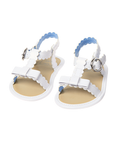 Scalloped Crib Sandal