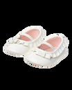 Ruffle Crib Shoe
