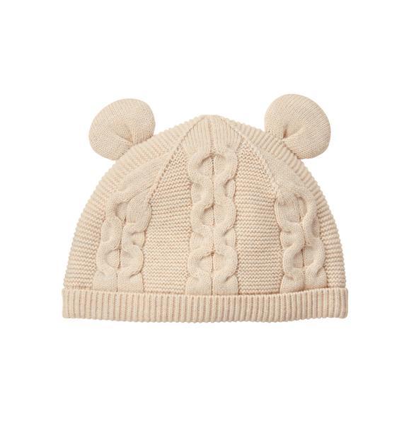 Knit Bear Beanie