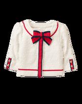 Bouclé Ribbon Jacket