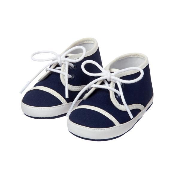 Lace Up Crib Shoe