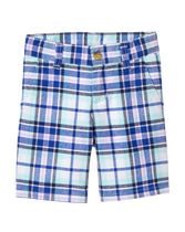 Poplin Plaid Short