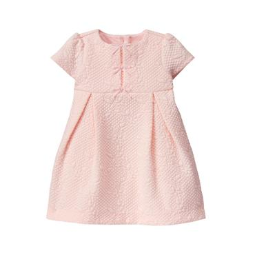 Petal Pink Quilted Dress at JanieandJack