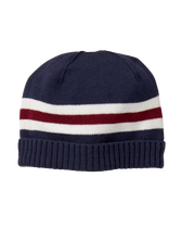 Striped Varsity Beanie