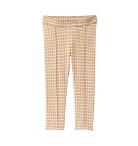 Houndstooth Knit Pant