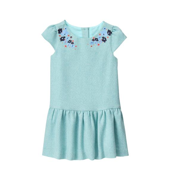 Embroidered Bloom Dress