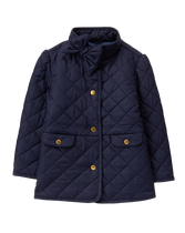 Bow Quilted Jacket