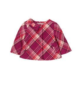 Plaid Bow Jacket