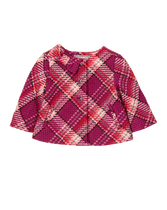 Plaid Bow Jacket