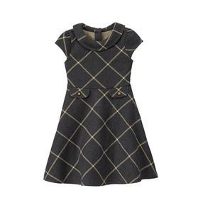 Plaid Knit Dress