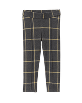 Knit Plaid Pant