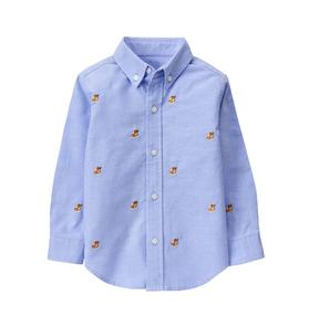 Bulldog Oxford Shirt