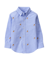 Bulldog Oxford Shirt