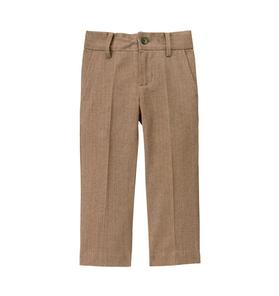 Herringbone Suit Trouser
