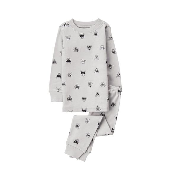 Masked Dogs Pajama Set
