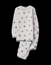 Masked Dogs Pajama Set