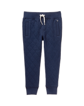 Quilted Knit Jogger