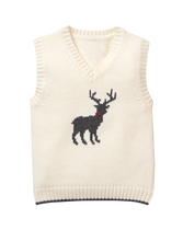 Deer Sweater Vest